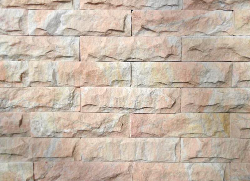 Đá trang trí Da Boc Hong Phan 5×20 MS006