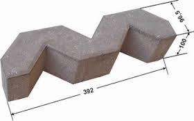 Gạch Block MS002 ( Màu xám )