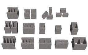 Gạch Block MS006 ( Màu xám )