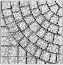 Gạch vỉa hè MS006 ( Màu xám )