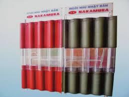 Ngói Nakamura hai màu MS014 ( Màu đỏ , đen )