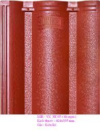 Ngói Nippon MS013 ( Màu đỏ )