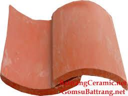 Ngói lợp màu Lama MS001 ( Màu đỏ )