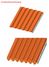Ngói lợp màu Lama MS004 ( Màu đồng )