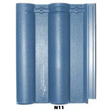 Ngói màu Nakamura MS011 ( Màu xanh )