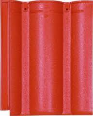 Ngói màu sóng nhỏ Mỹ Xuân MS010 ( màu đỏ )