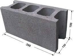 Gạch Block MS018 ( Màu xám )