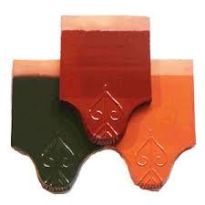 Gạch ngói Hoàng Hà MS007 ( Màu cam , xanh , đỏ )