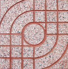 Gạch vỉa hè MS007 ( Màu đỏ )