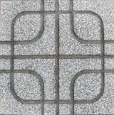 Gạch vỉa hè MS017 ( Màu xám )