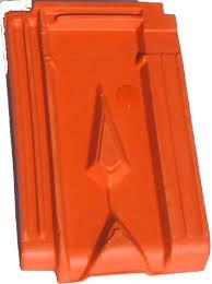 Ngói đất sét nung Mỹ Xuân MS003 ( màu đỏ )