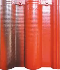 Ngói Nakamura hai màu MS005 ( Màu đỏ đen )