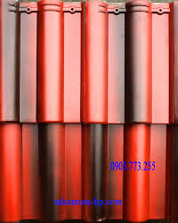 Ngói Nakamura hai màu MS013 ( Màu đỏ đen … )