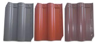 Ngói lợp màu Lama MS011 ( Màu xám , đỏ , nâu xám )