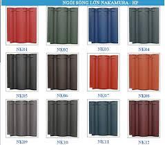 Ngói màu Nakamura MS007 ( Nhiêu màu  )