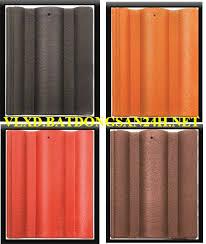 Ngói màu Lama MS004 ( Màu đỏ , cam , nâu , đen )