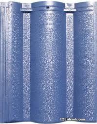 Ngói màu Lama MS008 ( Màu xanh dương )