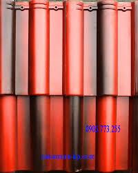 Ngói màu Lama MS011 ( Màu đỏ đen )