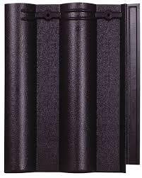 Ngói màu sóng nhỏ Mỹ Xuân MS006 ( màu đen )