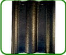 Ngói màu sóng nhỏ Mỹ Xuân MS014 ( màu đen )