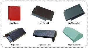 Ngói tiểu Đồng Nai MS003 ( Màu đỏ , nâu , xám , xanh )