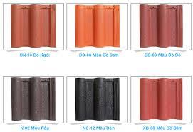Ngói tiểu Đồng Nai MS007 ( Màu đồng , nâu , xám , đen )