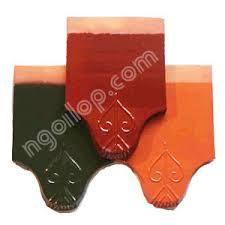 Ngói tráng men Mỹ Ý MS007 ( Màu xanh , cam , đỏ )