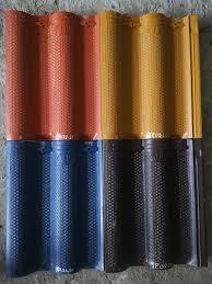Ngói tráng men Đồng Nai MS010 ( Màu vàng , đen , xanh , đỏ )