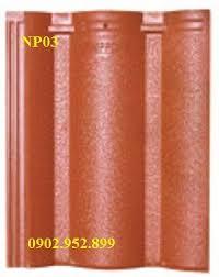 Ngói màu sóng lớn Mỹ Xuân MS007 ( màu đỏ )